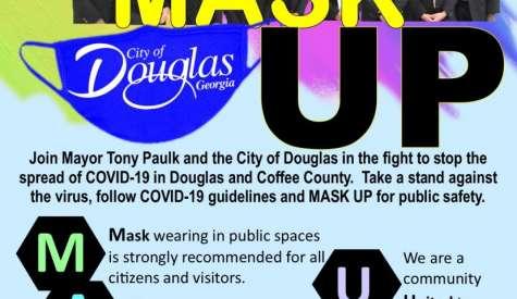 Mayor Paulk introduces 'Mask Up Douglas' campaign