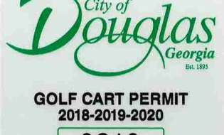 Registration requirements for golf carts in the city